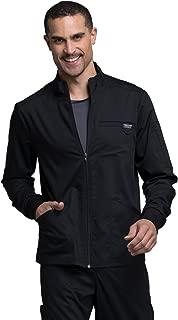 Workwear Revolution Men's Zip Front Scrub Jacket