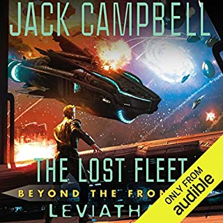Leviathan     The Lost Fleet: Beyond the Frontier, Book 5              By:                                                                                                                                 Jack Campbell                               Narrated by:                                                                                                                                 Christian Rummel                      Length: 10 hrs and 38 mins     333 ratings     Overall 4.7