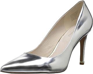 a05140c4d1d Amazon.com  Silver - Pumps   Shoes  Clothing