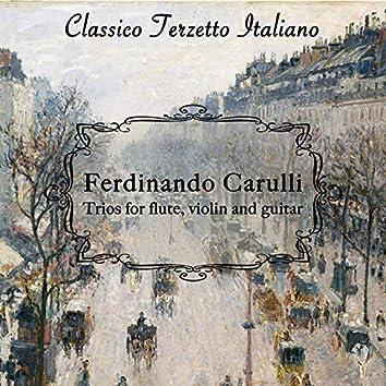 Ferdinando Carulli: Trios for Flute, Violin and Guitar