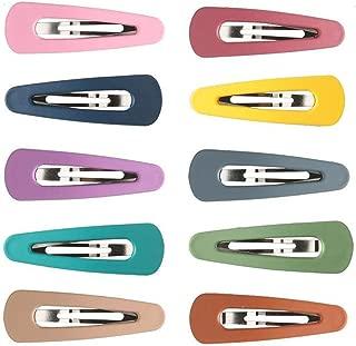 10PC Women's Barrettes Hair Accessories Fashion Geometric Alligator Hair Clips Cute Colorful Hairpin