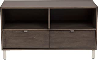 Urbangreen High Line Media Console in Painted Eco MDF, Yellow Paint