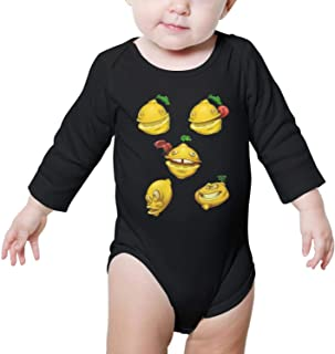 Died Cut with Shocked Lemons Baby Onesie Sleeveless Organic Cotton Romper Gift for Newborn Infant