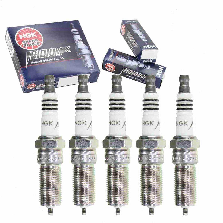販売実績No.1 5 pc NGK Iridium IX Spark Plugs Hummer 期間限定特価品 3.5L 3 H3 with compatible