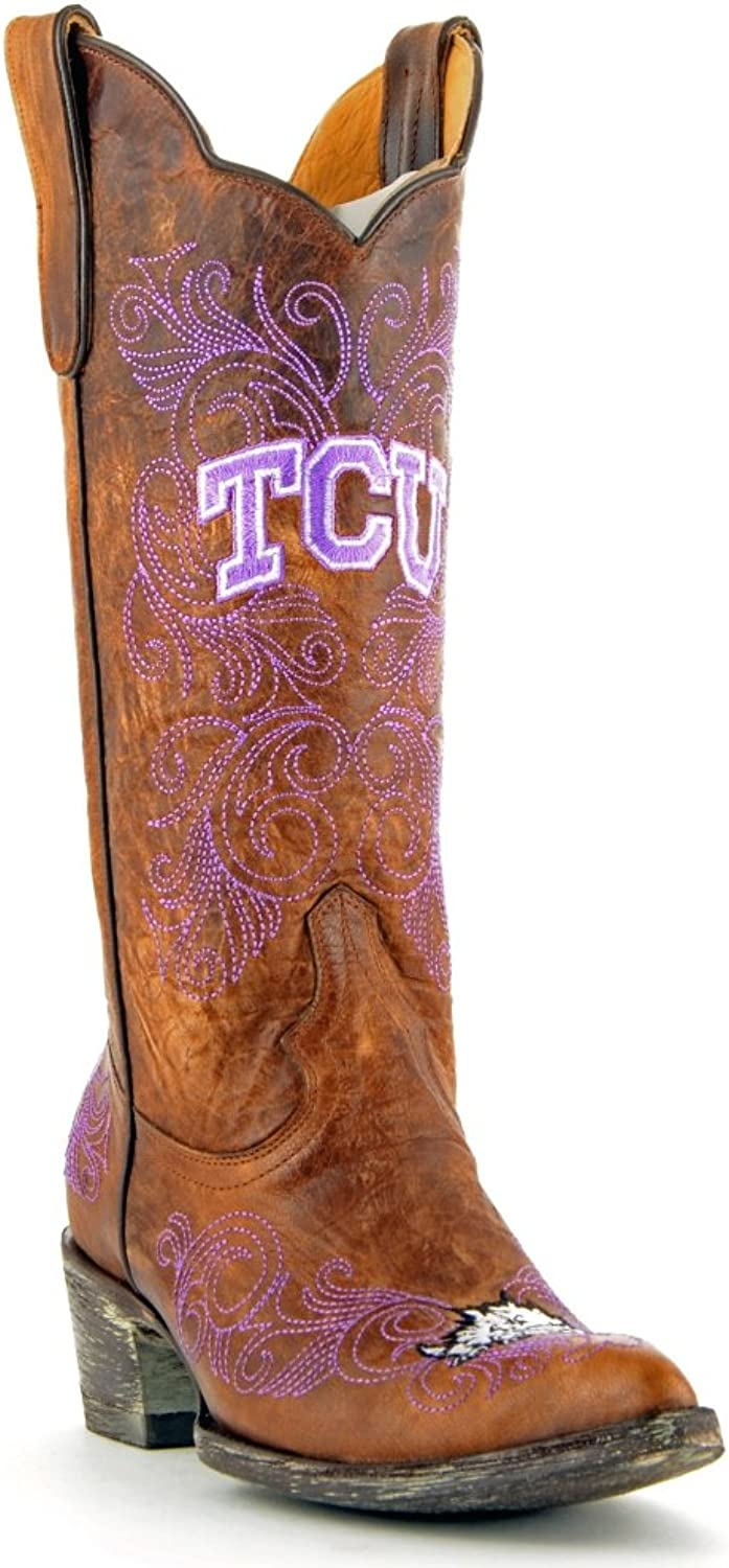 NCAA TCU Horned Frogs Women's 13-Inch Gameday Boots