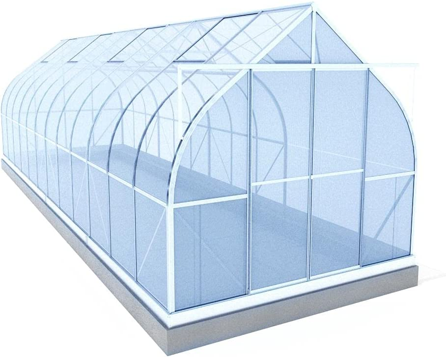 ClimaPod 9'x14' 6-MM Twin-Wall Kit Recommendation OFFicial shop with Polycarbonate Greenhouse