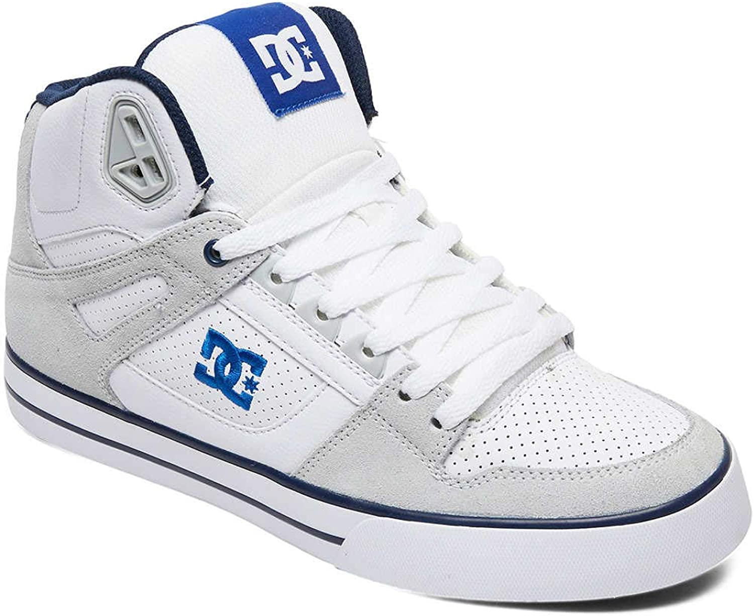 DC White-bluee Pure WC shoes