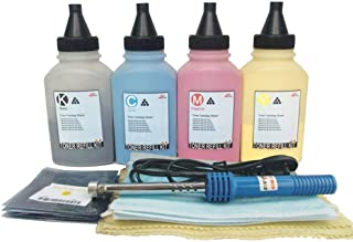 Misee Toner Refill kit for HP 410a 410x cf410a cf410x Used with Pro M452dw M452dn M452nw M477fnw M477fdn M477fdw M477 M452-4 Pack(with Tools