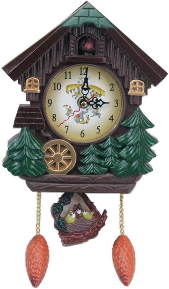 PYapron Original OFFicial Regular dealer shop Black Forest Cuckoo Bird with Mechanical Clock