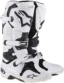 Alpinestars Tech 10 Vented Men's White Motocross Boots - 8