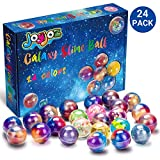 Joyjoz Galaxy Slime Kit de 24 Paquetes de Gelatina Pegajosa de Masilla Suave Elástica Metálica - para Fiestas de Niños y Adultos