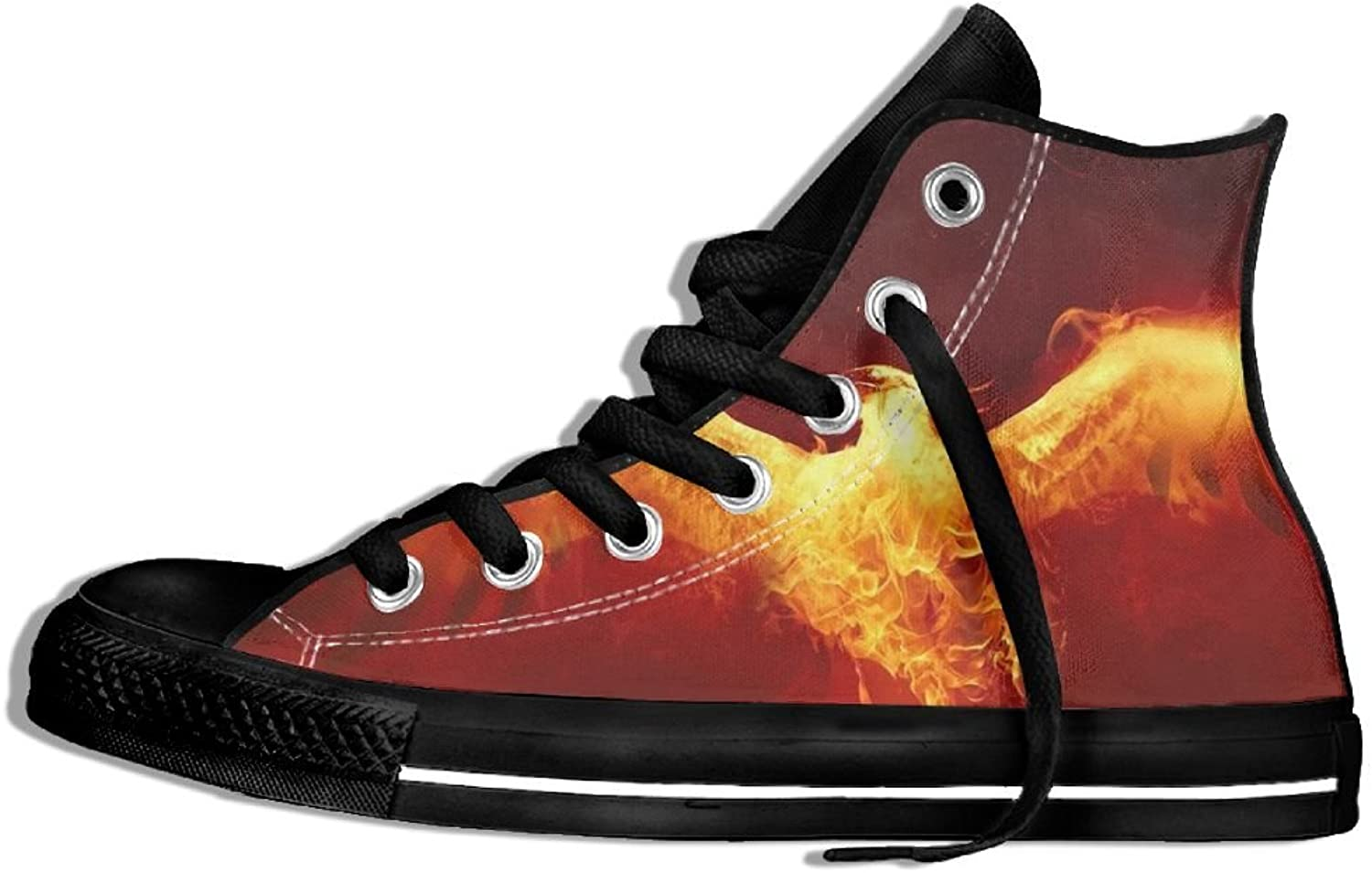 The Phoenix Rise High Top Classic Casual Canvas Fashion shoes Sneakers For Women & Men