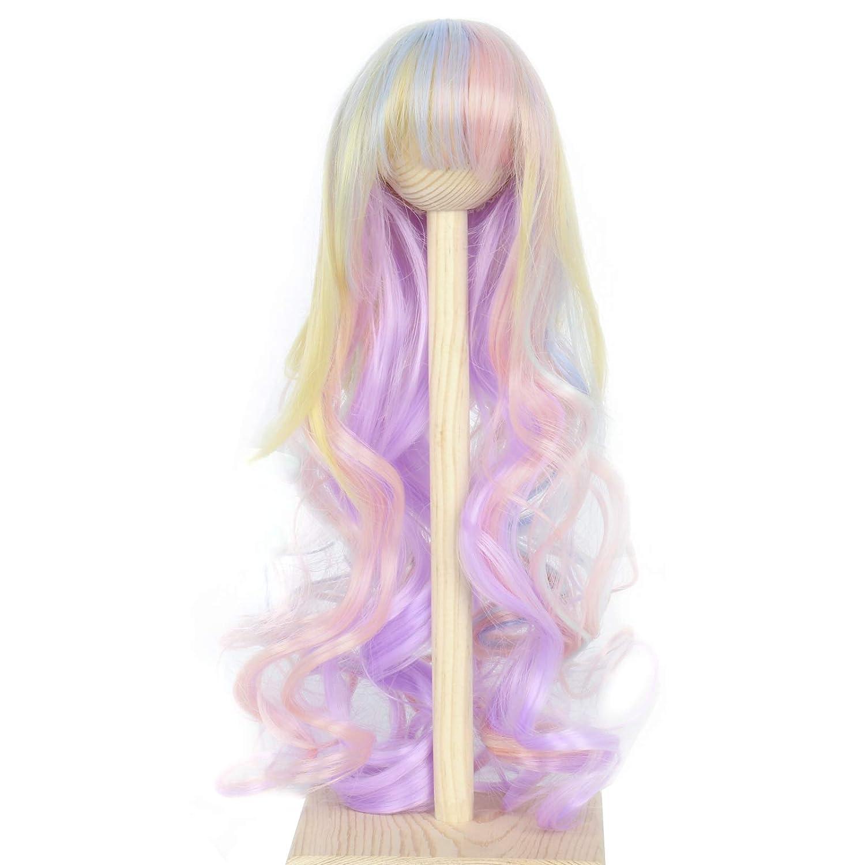 Miss U Hair 8-9 Inch 1 Under blast sales 3 BJD Pullip Lon Easy-to-use Dollfie MSD Doll Wig DOD