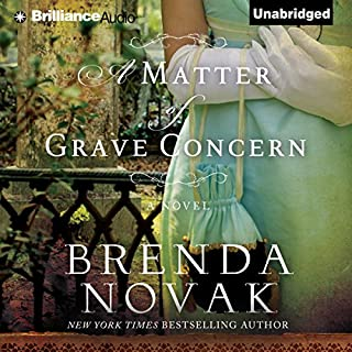 A Matter of Grave Concern audiobook cover art