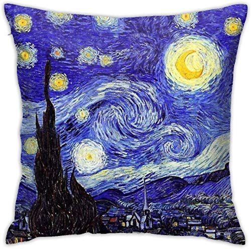 Unique Pillow Slip 20x30 Pillow Cover Cafepress The Starry Night By Vincent Van Gogh Standard Size Pillow Case Kids Bedding Sheets Pillowcases
