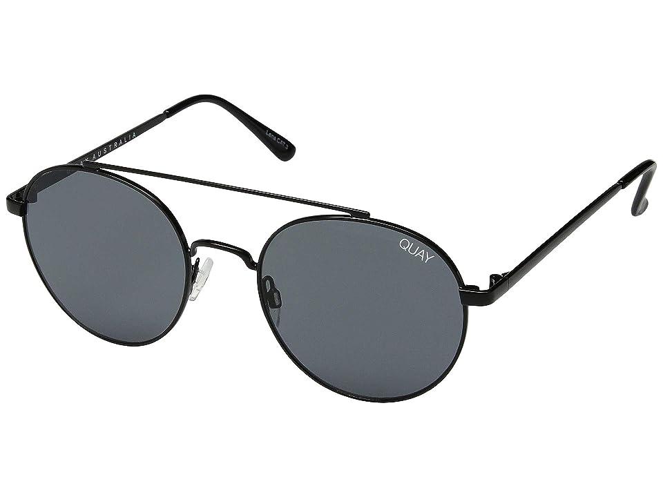QUAY AUSTRALIA Outshine (Black/Smoke) Fashion Sunglasses
