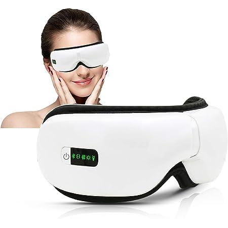 Mini appareil de massage /électrique raffermissant la peau Masseur pour les yeux anti-rides avec t/ête rempla/çable Masseur pour les yeux