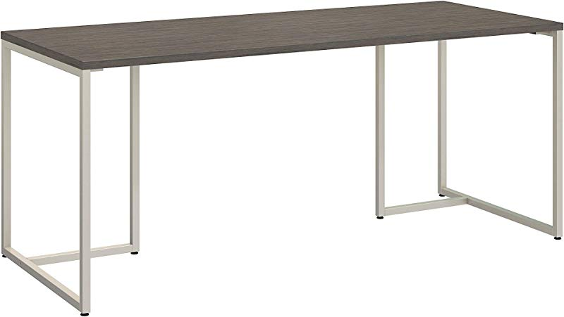 Office By Kathy Ireland Method 72W Table Desk In Cocoa