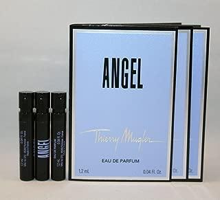 3 Thierry Mugler Angel EDP 1.2 Ml/0.04 Oz Each Spray Sample Perfume Travel Vial Lot