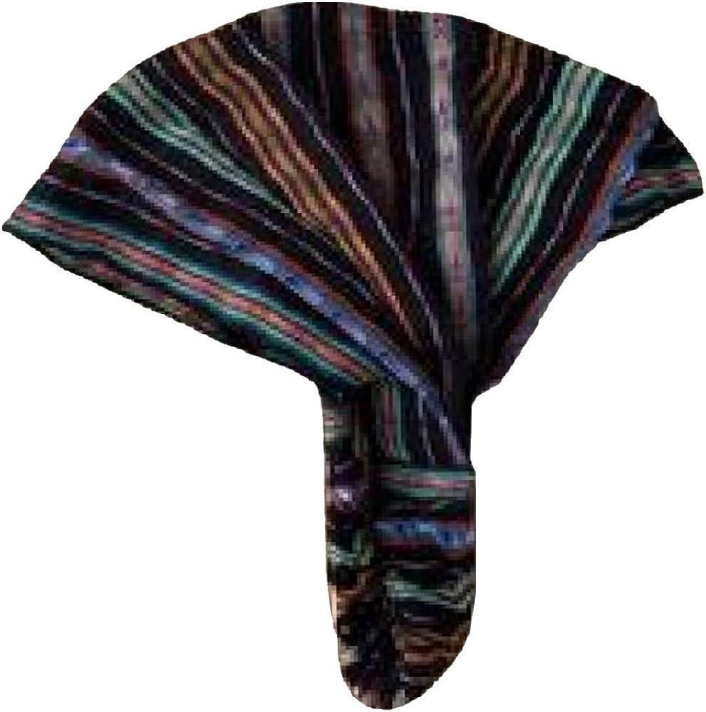 Inspirit Arts Medium Size Extra Loose Headband Handwoven No-Slip Black