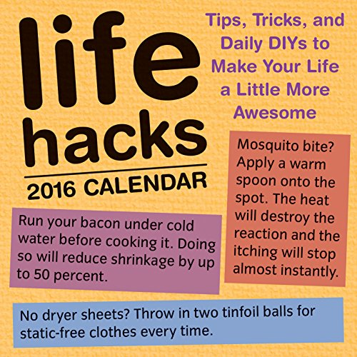 Life Hacks 2016 Day-to-Day Calendar