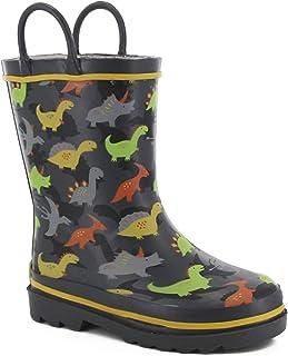 حذاء المطر للأولاد مطبوع مقاوم للماء من ويسترن شيف