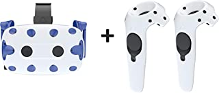 Skywin Silicone Skin Kit for HTC VIVE Pro Headset and Controllers - Silicone Skin kit Compatible with HTC VIVE Pro