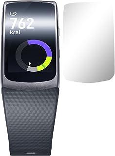 Slabo 2 x Skärmskydd kompatibel med Samsung Gear Fit 2 | Samsung Gear Fit2 Pro (SM-R365) Skyddsfilm Skydd Crystal Clear KLAR
