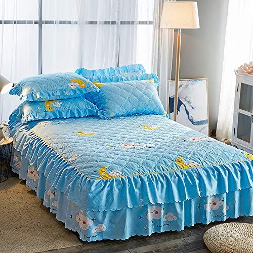 huyiming Gebruikt voor de Koreaanse versie van het bed rok enkele stuk dik bed cover 1.5m1.8m2 m bed Simmons matrashoes