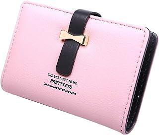 [G+J] クレジットカードケース 大容量 レディース カードケース かわいい おしゃれ カードホルダー 084 (ピンク)