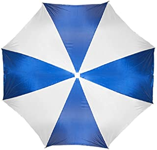 "Beach Umbrella 72"" Wide & 72"" High (Blue/White.)"