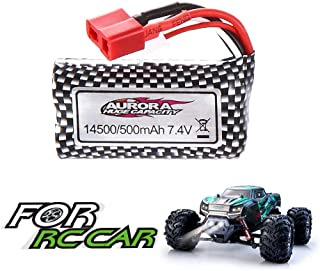 VATOS 3.7V/500mAh Rechargeable Battery for 1/20 4WD 9145 Remote Control Car