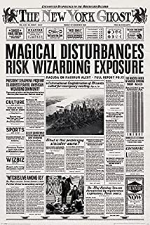 Fantastic Beasts and Where to Find Them - Movie Poster/Print (The New York Ghost) (Size: 24 inches x 36 inches)