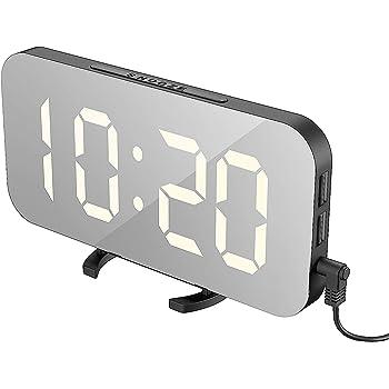 Elektrik Digitaler Wecker LED Wecker Verwendung Uhr Mit Schlummer Tisch
