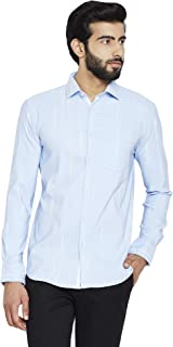 Crimsoune Club Blue Printed Men's Shirt