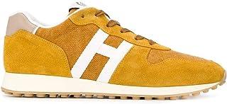 Luxury Fashion | Hogan Men HXM4290AN51N1U804X Yellow Suede Sneakers | Spring-summer 20