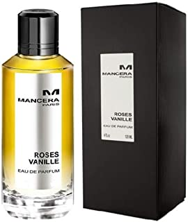 Mancera Roses Vanille Eau de Parfum for Women, 120 ml