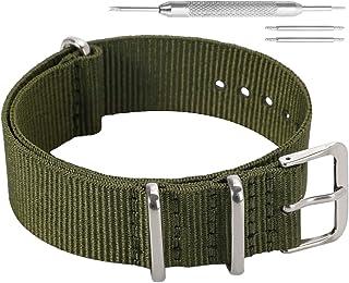 AUTULET colorato classico della moda sostituzione cinturino in nylon balistico per gli uomini donne