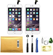 Select US Passion for White iPhone 6 4.7 Inch Screen Replacement Kit LCD Screen Tools Included