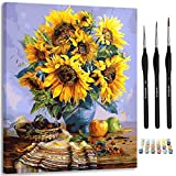 Artsy Etta Paint by Numbers for Adults with Frame Premium Brushes and Hanging Wire, Adult ...