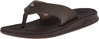 REEF Men's Sandals Rover   Athletic Flip Flops for Men with Soft Cushion Footbed