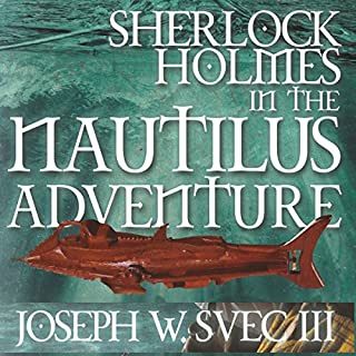 Sherlock Holmes in The Nautilus Adventure cover art