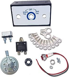Carolina Tarps Electric Tarp Switch Kit for Dump Truck Tarp Systems Rotary Style 50 Amp with Circuit Breaker
