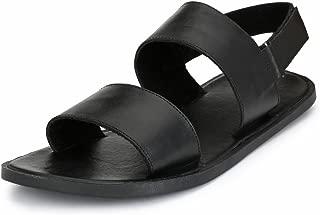 GUAVA Men Anti-Sweat Leather Sandals