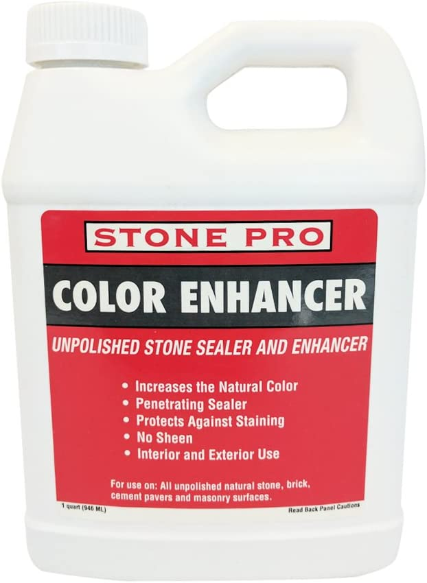 Stone Easy-to-use Pro Color Enhancer - Max 64% OFF Unpolished and Sealer