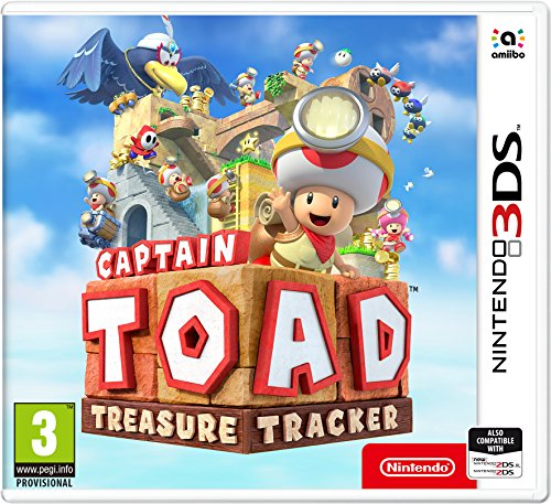 Captain Toad: Treasure Tracker - Nintendo 3DS [Edizione: Regno Unito]