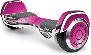 MightySkins Skin Compatible With Razor Hovertrax 2.0 Hover Board - Pink Diamond Plate | Protective, Durable, and Unique Vi...