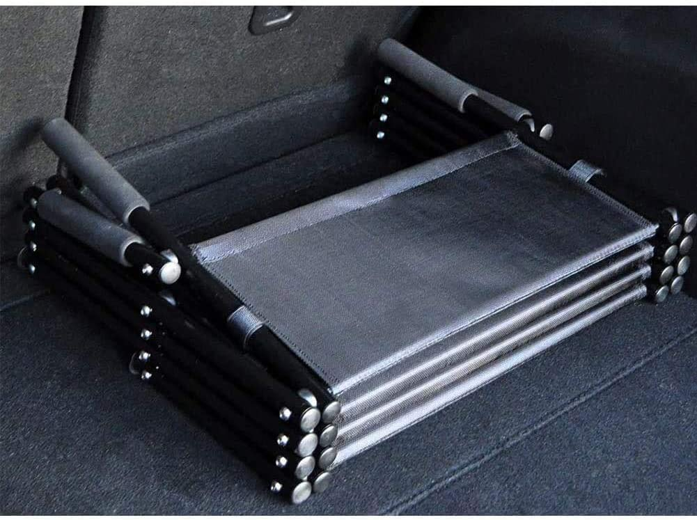 Portable Great for Cars SUVs and Beds Lightweight Foldable Pet Stairs//Ramp for Small and Large Dogs ESGT Nonslip Car Dog Step Ramps