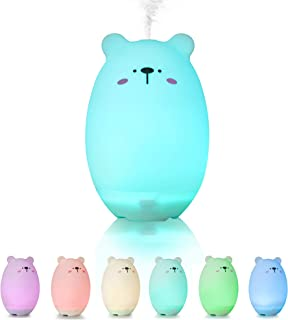 Small Diffuser for Essential Oil,GoLine Gifts for Women Girlfriend Teen Girls,Cute Mini Cool Mist Humidifier for Travel Office Kids Bedroom.