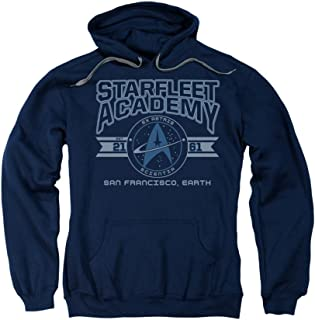 Star Trek Next Generation TV Starfleet Academy Earth Adult Pull-Over Hoodie